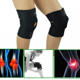 Knee Brace Adjustable Sports Leg Support Brace Wrap Protector Pads Patella Belt Fastener Belted Sports Knee Brace