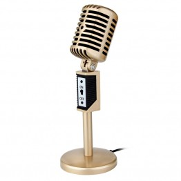 LEORY 3.5mm Jack Stereo Recording Microphone Mic For Computer Laptop Voice Chat Microphones Desktop For Sing Chatting Karaoke