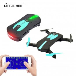 LITTLEHEE Mini Drone JY018 WIFI 0.3MP 2.0MP Remote Control Foldable Quadcopter Drones with Camera Pocket RC Helicopter