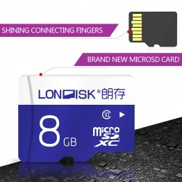 Londisk Micro SD 32GB  8GB 16GB Flash Memory Card 64GB 128GB Class10 UHS-1 600X Micro SD TF Card For SmartPhone Pad Camera