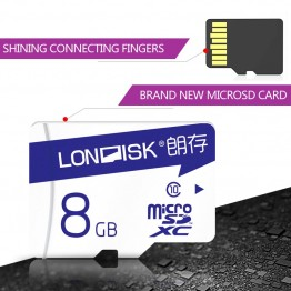Londisk Robot Series Micro SD Card 16GB 32GB 64GB 128GB Class10 UHS-1 Real Capacity  Flash Memory Card for phone Camera