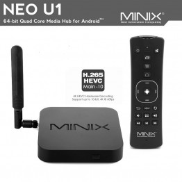 MINIX NEO U1+A2 Lite Smart TV Box Air Mouse Amlogic S905 Quad-Core Media Hub for Android 2GB/16GB/4K/XBMC/KODI Android TV Box