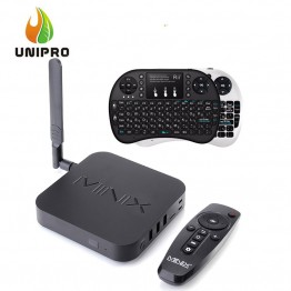 MINIX NEO U1 Android TV Box+Israel Hebrew Rii mini i8+ Air Mouse keyboard Amlogic S905 Quad Core 2G/16G 802.11ac 2.4/5GHz WiFi