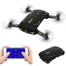 MJD Toys ! New x20 RC Selfie Pocket Mini Drone Quadcopter Helicopter With Wifi Fpv Camera VS jxd 523 jjrc h37 h31 syma x5c x5sw