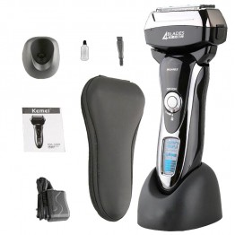 Men razor Shaving Machine Electric Shavers Floating Head Rechargeable Barbeador Rasoir Electrique