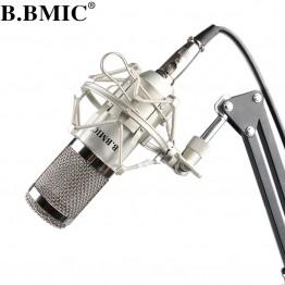 Microphone Professional BM800 Condenser KTV Microphone Pro Audio Studio Vocal Recording Mic KTV Karaoke/ Metal Shock MountMB800