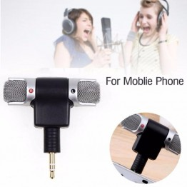 Mini 3.5mm Microphone Stereo Mic For Recording Mobile Phone Studio For Laptop Microphone