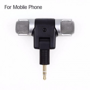 Mini 3.5mm Microphone Stereo Mic For Recording Mobile Phone Studio For Laptop Microphone32784739501
