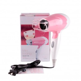 Mini Ceramic Ionic Hair Blower 1000W Professional Salon Hair Dryer High Power 220V foldable handle Travel Household Hairdryer