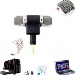 Mini Condenser Microphone stereo Audio Studio Recording Mikrafone For Phone Notebook Sound Recorder Skype MSN Radio Braodcasting
