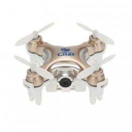 Mini Original CX-10W 4CH 6-Axis Gyro Wifi FPV Quadcopter RTF Mini RC Drone with 0.3MP Camera 3D Flips Function