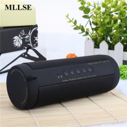 Mllse Waterproof Bicycle wireless bluetooth speakers high quality portable mini soundbar mp3 player speaker with Aux/FM radio/TF