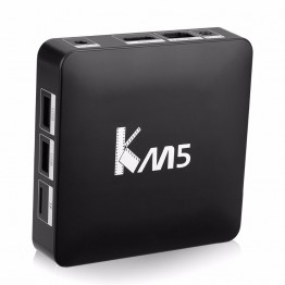NEW KM5 TV Box Quad Core Amlogic S905X Android 6.0 Set Top Box OTA 2.4G WiFi VP9 H.265 Decoding Media Player 1G/8G Smart TV Box