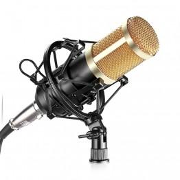 Neewer  NW-800 Professional Studio Microphone Set:Mic+Mic Shock Mount+Anti-wind Cap+Mic Power Cable for Recording KTV Karaoke