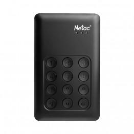 Netac K390 1TB USB 3.0 External Hard Drive Disk Keypad Lock HDD AES 256-bit Hardware Encryption HD Disk