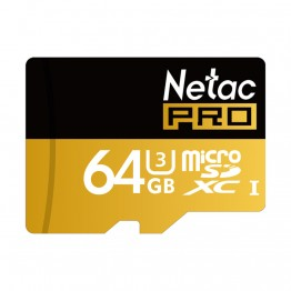 Netac Original P500 128GB 64GB Pro SDXC U3 Micro SD Card,32GB 16GB  SDHC U1 Class10 Memory Card Ultra High Speed UHS-I TF Cards