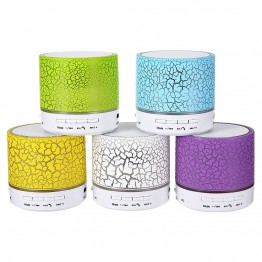 New A9 LED Portable MINI Wireless Bluetooth Speaker Hands Free TF USB Music Sound Box Subwoofer Loudspeakers For Phone PC