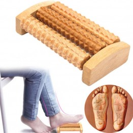 New Hot Heath Therapy Relax Massage Relaxation Tool Wood Roller Foot Massager Stress Relief  Health Care Therapy