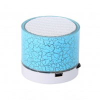 New Mini Bluetooth Speaker LED Light Portable Wireless Colorful Loudspeakers Handsfree Stereo Music Speakers Player support TF