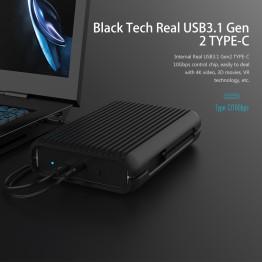 ORICO 2 TB USB3.1 Gen2 TYPE-C 3.5 10Gbps High-Speed Shockproof External Hard Drives HDD Desktop Laptop Mobile Hard Disk EU Plug