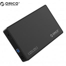 """ORICO 3588US3-V1 3.5-inch SATA External Hard Drive Enclosure, USB 3.0  Tool Free  for 3.5"""" SATA HDD and SSD"""