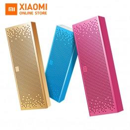 Original Xiaomi Bluetooth Speaker Wireless metel Stereo Portable MP3 Player Handsfree Call 3D Subwoofer  Mini