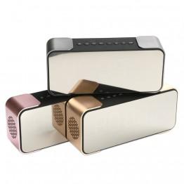 Portable Bluetooth Speaker PTH-305 Wireless Stereo Music Sound Box Support FM Radio Line in TF Time/Alarm Clock altavoz Speakers