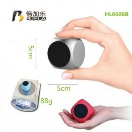 Portable Outdoor Mini Bluetooth Speaker BIJELA HL6606B 3W Wireless Super Bass Smart Speakers Handsfree With Mic