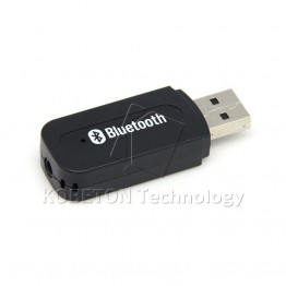 Portable USB Wireless Bluetooth Stereo Music Receiver Dongle with 3.5mm Jack Audio Cable for Speaker for iPhone 6 for SONY LG G3