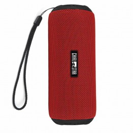 Portable Wireless Speaker IPX6 Waterproof Outdoor Bluetooth V4.1 Speakers 12W Fabric Covering Indoor cycling Sports Red