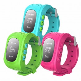 Q50 Smart Phone Watch Kid Wristwatch Anti Lost GPS Tracker Watch For Kids SOS GSM Mobile Phone Smartwatch For IOS Android