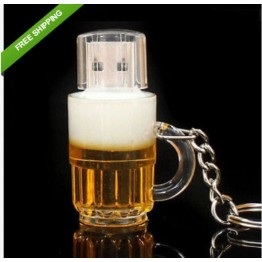RBT Usb Flash Drive Real Capacity High Speed Beer Bottle 8GB 16GB 32GB Memory Usb Stick 2.0 Pen Drive Pendrive For PC