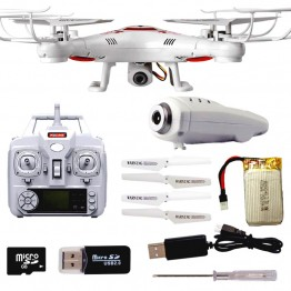 Rc Helicopter Headless 4 Axis K300C 2 MP HD Camera RC Drone Camera Drone 2.4Ghz Quadrocopter Mode Drone