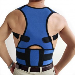 S-XXL Wholesale Back Shoulder Support Belt Back Brace to Correct Back Posture Magnetic Posture Support Lower Back Pain Relief