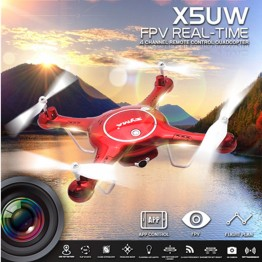 SYMA Newest X5UW Somatosensory Control UAV Drone with Wifi Camera 720P WIFI FPV With 2MP HD Camera Helicopter #