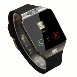 Smart Watch DZ09 2016 Gold Orange White Black Smartwatch Bluetooth Watches For IOS Android Iphone SIM Card Camera 1.56Inch