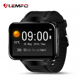 Surprise ! LEMFO LEM4 Android OS Smart Watch phone support GPS SIM card MP3 bluetooth WIFI smartwatch for apple ios android os