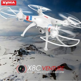 Syma Original  X8C Professional UAV  6 Axis with 2MP Wide Angle HD Camera RC Quadcopter RTF Helicopter Drone shatter resistant#