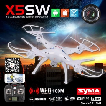 Syma X5SW Quadrocopter Drone With Camera HD FPV Dron Skimmer Rc Helicopter WIFI Quadcopter Remote Control Helicoptero32581686457