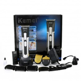 T108 kemei men clipper hair trimmer beard professional rechargeable baby electric razor cutter hair cutting machine haircut