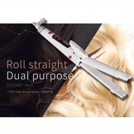 TINY  Professional Corrugated Curler Curling Iron Hair Styler Electric Corrugation Wave Styling Tools