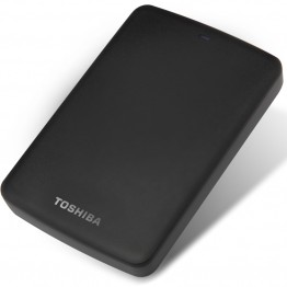 "TOSHIBA 2TB External Hard Drive Disk CANVIO BASICS 2000GB Portable HDD 2000G HD USB 3.0 2.5"" SATA3 Black ABS Case Original New"
