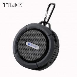 TTLIFE Mini Dynamics Column Bluetooth Speaker Loudspeaker Sound System 3D Stereo Waterproof Wireless Portable Speaker for Xiaomi