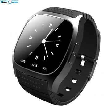 TimeOwner M26 Bluetooth Smart Watch Android Wearable Devices Health Tracker SMS/Call Reminder Smartwatch for Samsung Xiaom & iOS32486975006