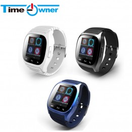 TimeOwner M26 Bluetooth Smart Watch Android Wearable Devices Health Tracker SMS/Call Reminder Smartwatch for Samsung Xiaom & iOS