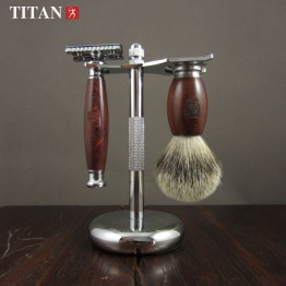 Titan safety razor set ,double edge safety razor set,safety razor stainless steel Classic Fashion Men Manual Shaver
