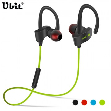 Ubit 56S Sports In-Ear Wireless Bluetooth Earphone Stereo Earbuds Headset Bass Earphones with Mic for iPhone 6 Samsung Phone32722285037