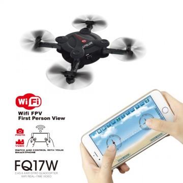 Upslon 2017 FQ777 FQ17W Mini Pocket Drone Wifi FPV 0.3MP Camera Quadcopter 2.4G RC Foldable Helicopter Remote Control BNF RTF32803599588