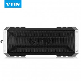 VTIN Portable Wireless Bluetooth Speaker 20W by dual ten drivers Water-resistant speaker Bass with Mic & 4400mAh for Ipad &phone