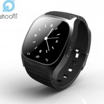 Waterproof Smartwatch M26 Bluetooth Smart Watch With LED Alitmeter Music Player Pedometer For IOS Android Phone PK GV18 U8